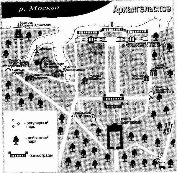 усадьба Архангельское у